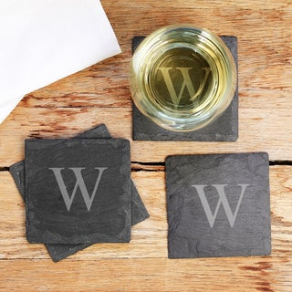 Personalized Slate Coasters (Set of 4)