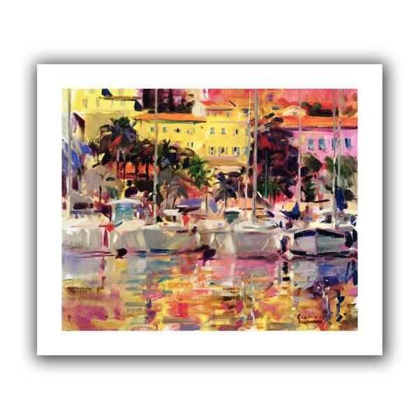 Peter Graham 'Golden Harbour Vista' Unwrapped Canvas