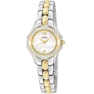 Seiko Women's SXGN16 Two-tone Diamond Dress Watch