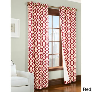Trellis Printed Thermalogic Insulated Curtain Panel