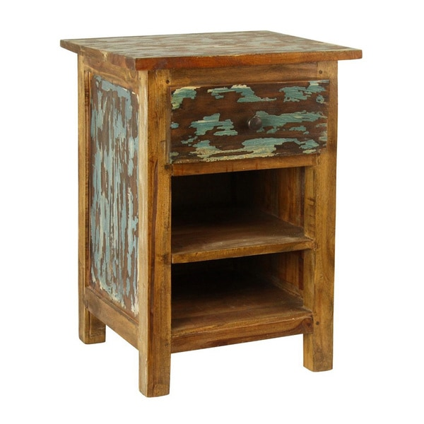 Antique Revival Lyon Rustic Nightstand - Shop Antique Revival Lyon Rustic Nightstand - Free Shipping Today