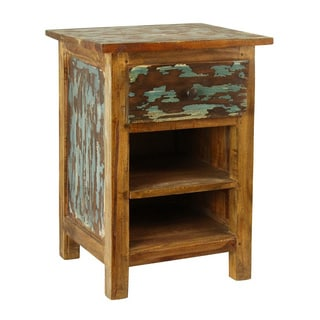 Antique Revival Lyon Rustic Nightstand