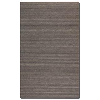 Uttermost Wellington Grey Undyed Wool Rug (5x8)