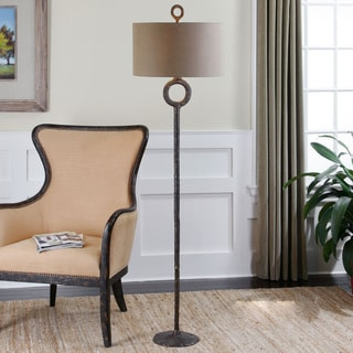 Uttermost Ferro Cast Iron Floor Lamp