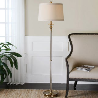 Uttermost Vairano Coffee Bronze Floor Lamp