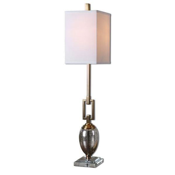 Uttermost Copeland Faux Rock Crystal Lamp