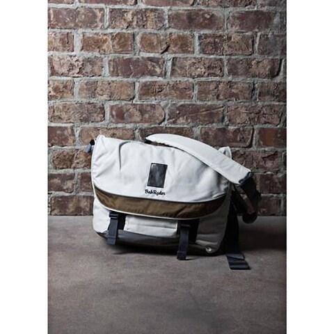 Backside BakRyder Bronze/ Off-white Messenger Bag