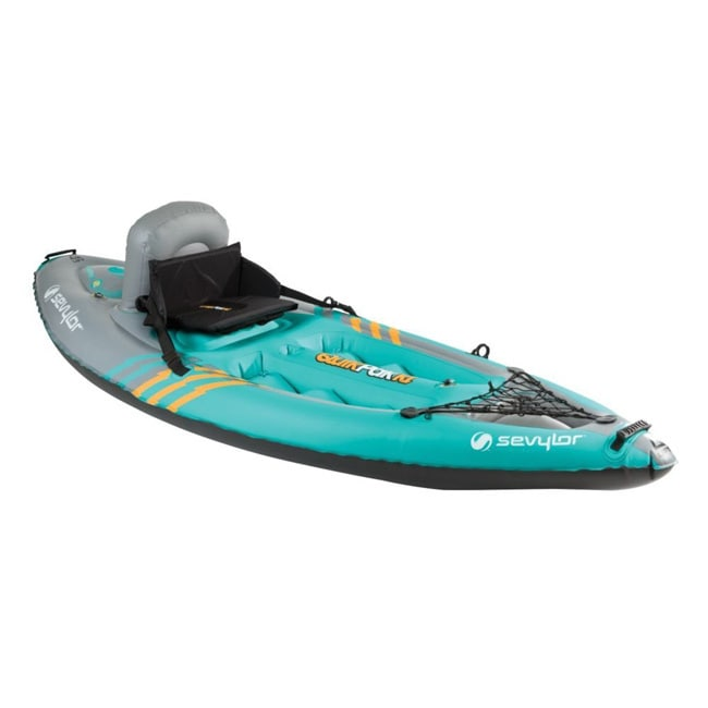 Coleman Sevylor K1 Quipak 1-person Kayak, Grey