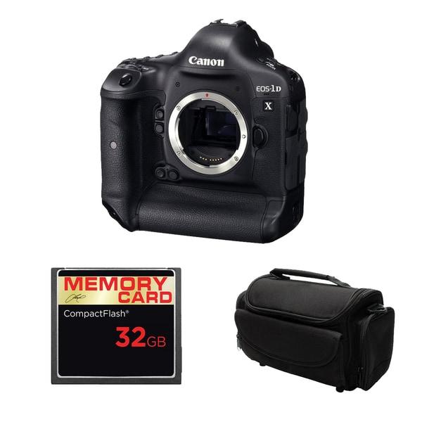 Canon EOS 1D X Digital SLR Camera Body 32GB Bundle