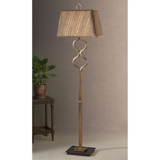 Uttermost Jareth Floor Metal and Wood Floor Lamp