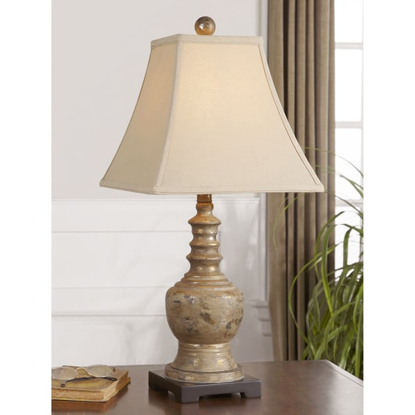 Uttermost Valtellina Poly Metal Floor Lamp