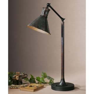 Uttermost floor lamps for less overstock uttermost arcada metal floor lamp mozeypictures Images