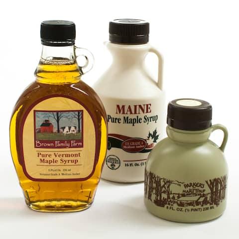 igourmet New England Maple Syrup Sampler