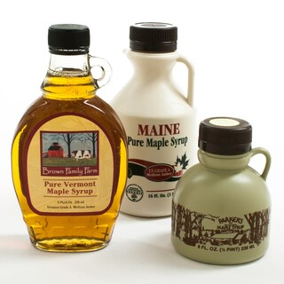igourmet New England Maple Syrup Sampler