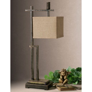 Uttermost Porano Desk Metal Porcelain Floor Lamp