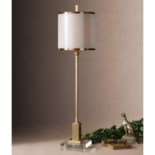 Buy uttermost floor lamps online at overstock our best uttermost villena metal fabric crystal floor lamp mozeypictures Gallery