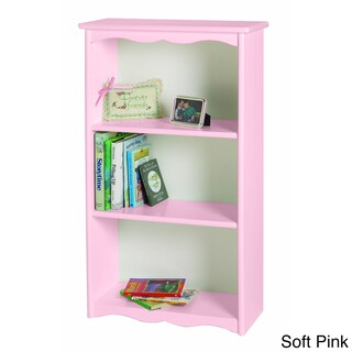 Little Colorado Traditional Bookcase (Option: Soft Pink)