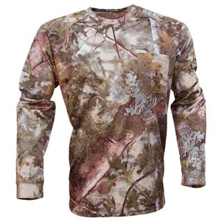 King's Camo Hunter Series Mountain Shadow Long Sleeve Camo Tee