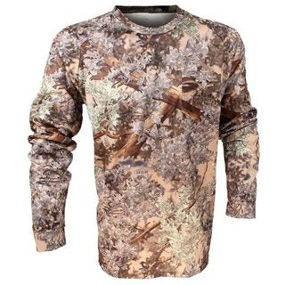King's Camo Hunter Series Desert Shadow Long Sleeve Camo Tee