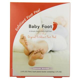 Baby Foot Lavender Easy Pack 1.2-ounce Exfoliant Foot Peel|https://ak1.ostkcdn.com/images/products/9095126/P16283663.jpg?impolicy=medium