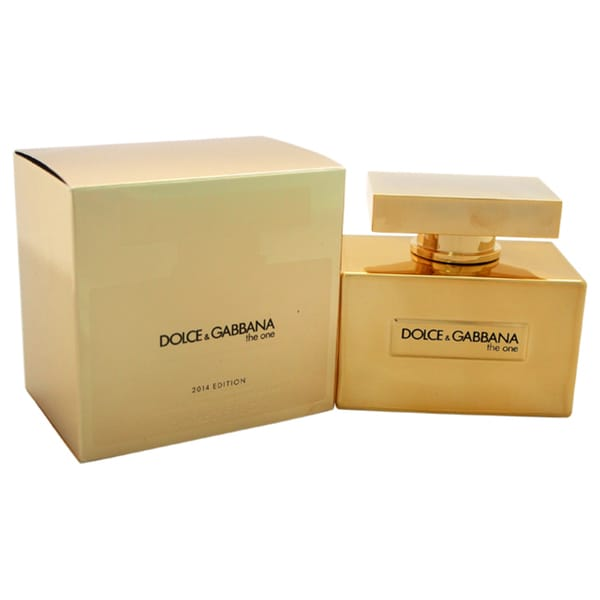 Dolce Amp Gabbana The One Gold 2014 Edition Womens 25
