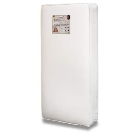 Mikaila 98 White Foam Crib Mattress