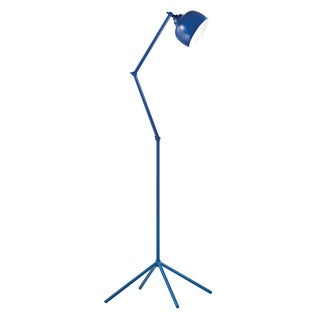 HGTV HOME Contemporary 1-light Blue Functional Floor Lamp