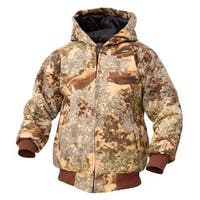 King's Camo Youth Insulated Hunting Hooded Jacket