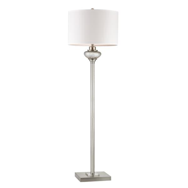 Dimond Edenbridge 2-light LED Glass Floor Lamp with LED Nightlight