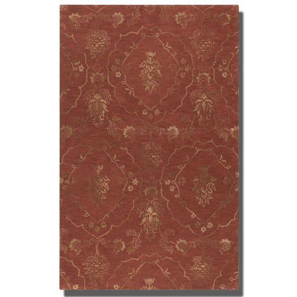 Uttermost Bankura Gold Wool Rug - 6' x 9'