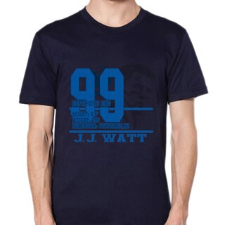 JJ Watt Stats Blue T-shirt