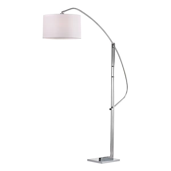 Dimond Assissi 1-light LED Polished Nickel Functional Arc Floor Lamp