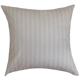Kelanoa Stripes Bella Twill Feather Filled Throw Pillow