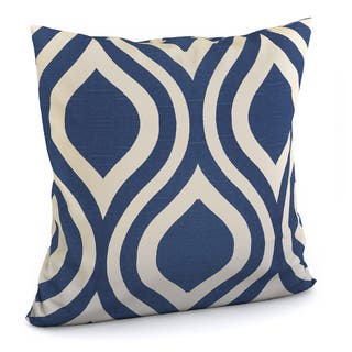 Porch & Den Benson Binney Geometric Indigo Feather-filled 18-inch Throw Pillow|https://ak1.ostkcdn.com/images/products/9095353/P16283849.jpg?impolicy=medium