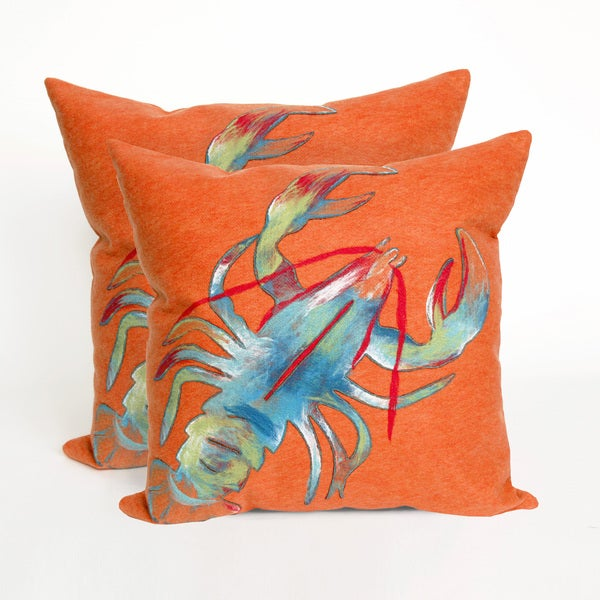 Shop Claws 20 Inch Throw Pillow Set Of 2 Free Shipping