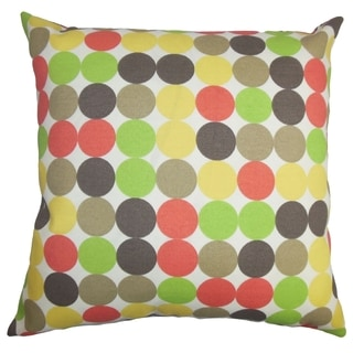 Sacnite Geometric Indoor/Outdoor Pillow 18-inch Throw Pillow