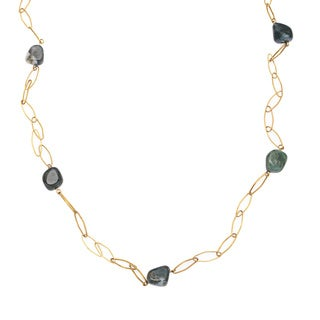 Captiva Day Agate Link Necklace
