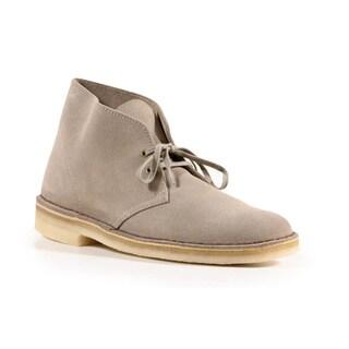 Clarks Men's Sand Suede Desert Boots