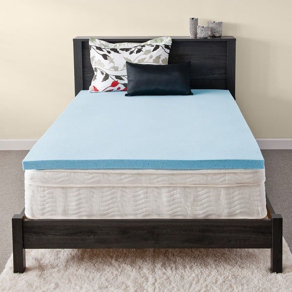 Priage MyGel 2-inch Gel Memory Foam Mattress Topper