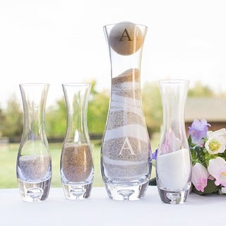 Personalized Rustic 4-piece Unity Sand Ceremony Set