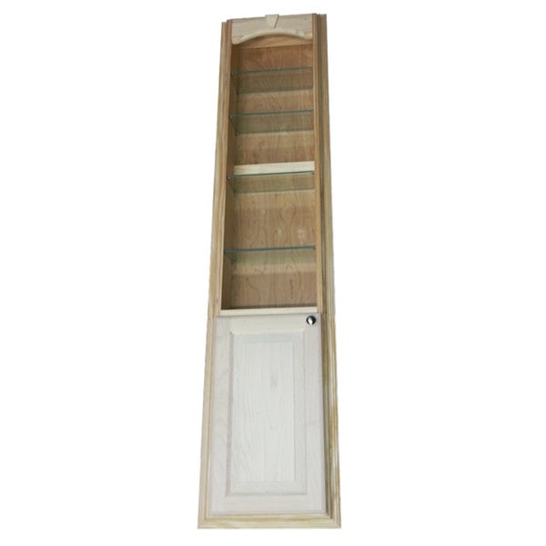 Shop 60-inch Recessed In The Wall Bookcase
