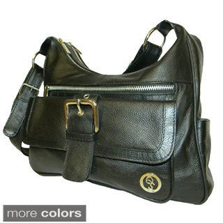 QS Cowhide Leather Handbag