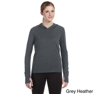 Alo Women's Performance Triblend Long-sleeve Hooded Pullover (More options available)