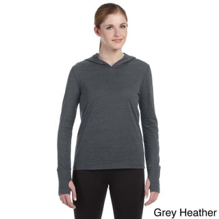 Alo Women's Performance Triblend Long-sleeve Hooded Pullover