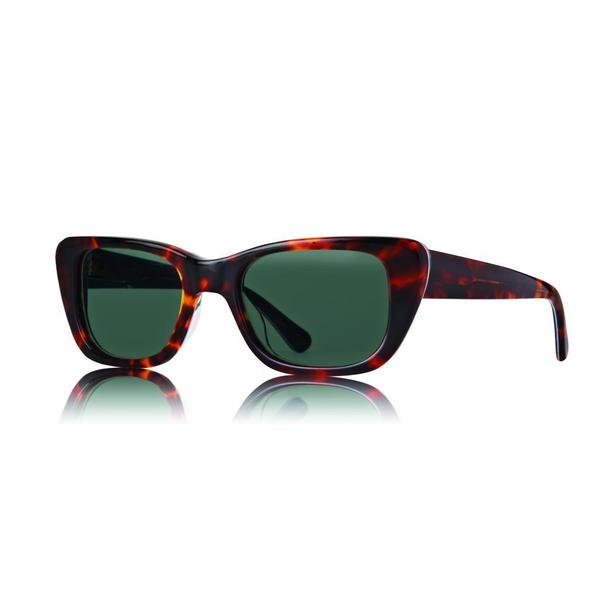 d74ef04b07 Shop Raen Chaise Tortoise and Aloha Sunglasses with Green Lenses ...