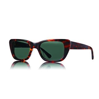 Raen Chaise Tortoise and Aloha Sunglasses with Green Lenses