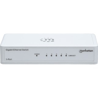 Manhattan 5-Port Gigabit Ethernet Switch