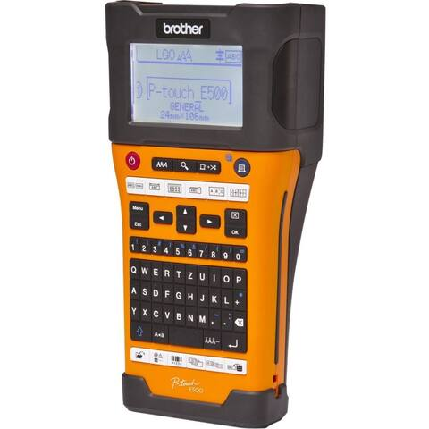 Brother Industrial Handheld Labeling Tool w/ Auto Cutter & Computer Connectivity