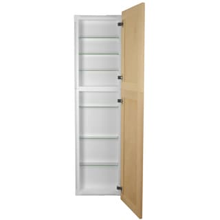 44-inch Recessed In the Wall Frameless Pantry Medicine Cabinet