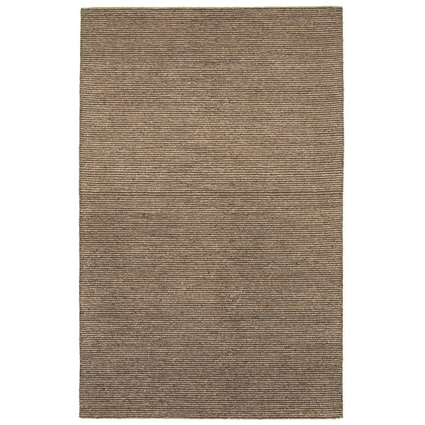 LR Home Dazzle Brown/ Beige Natural Area Rug (5' x 7'9) - 5' x 7'9